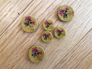 Bouquet Buttons