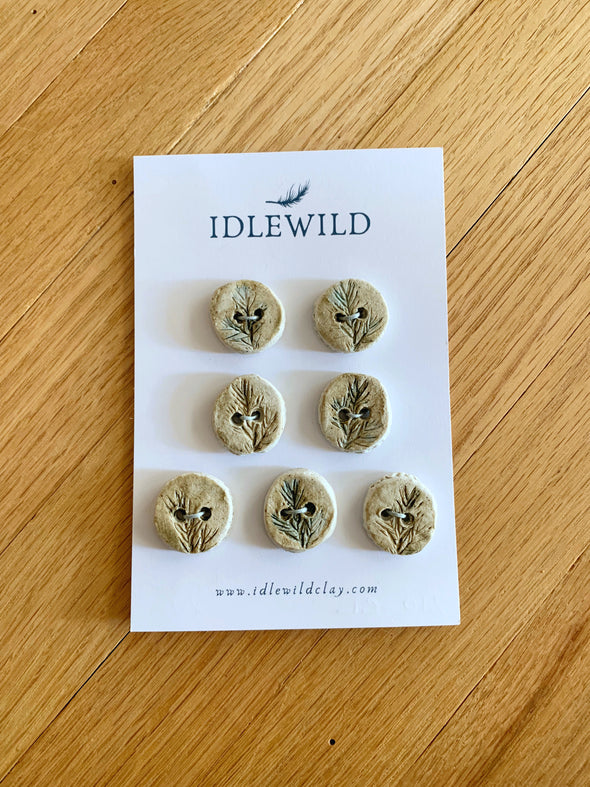 Idlewild Clay Button Sets