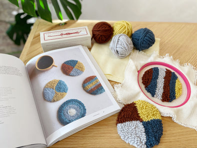 Punch Needle Coaster Kit