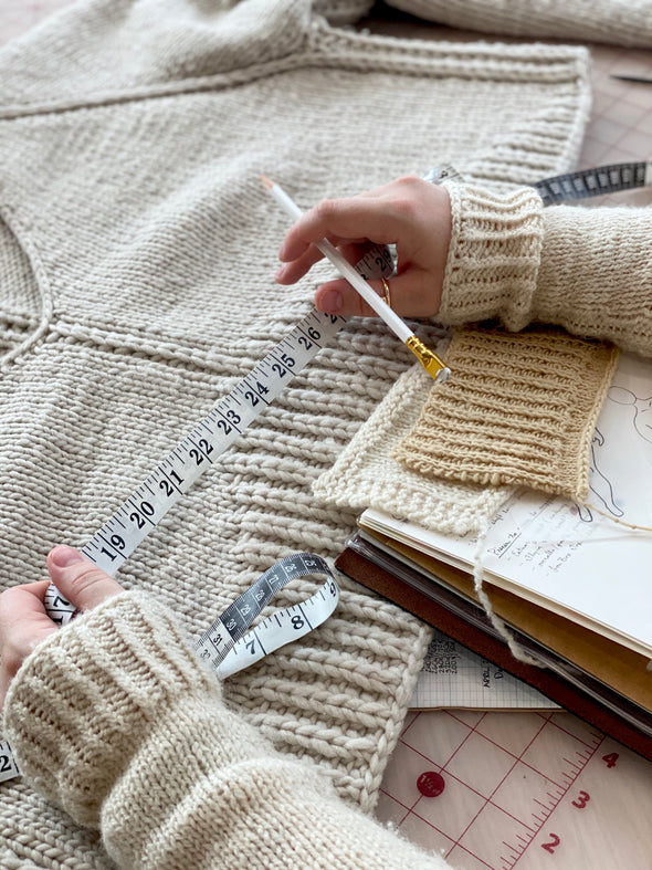 Knitting Math for Curves