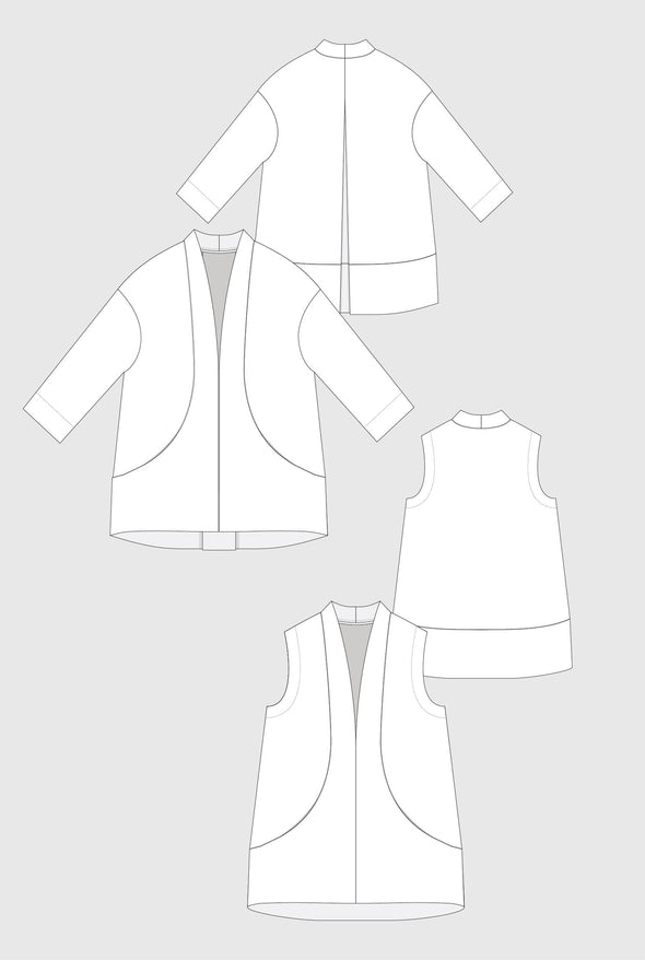 Flynn Jacket Pattern