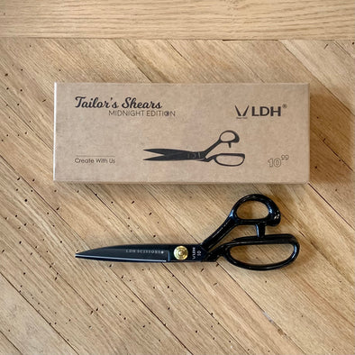 "Left-handed 10"" Midnight Edition Fabric Shears"