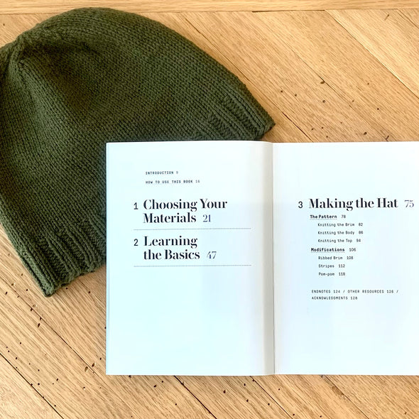 Knit A Hat - Learn To Knit Kit
