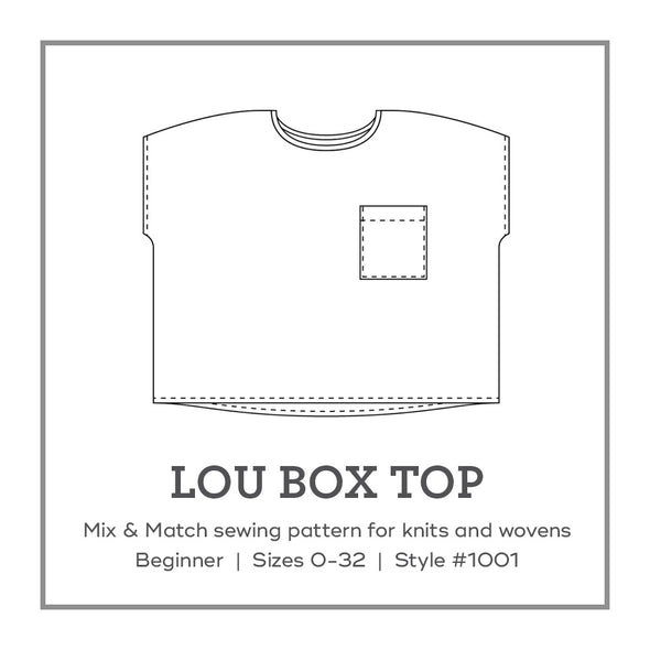 Wardrobe Basics: Lou Box Top — Sept 27
