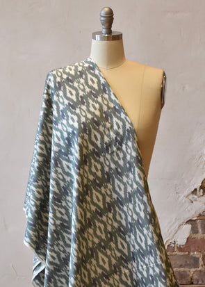 Double Ikat Green/Blue