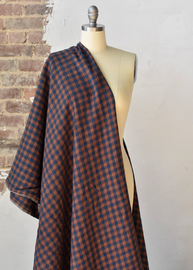 European Checkered Linen - Famile