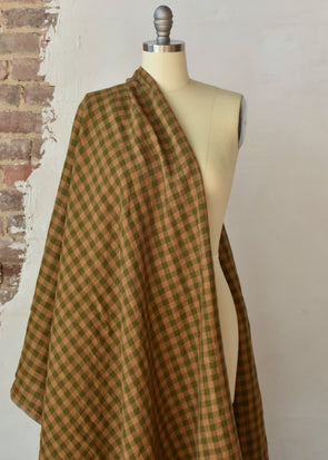 European Checkered Linen - New England