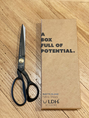 "9.5"" Matte Black Fabric Shears"