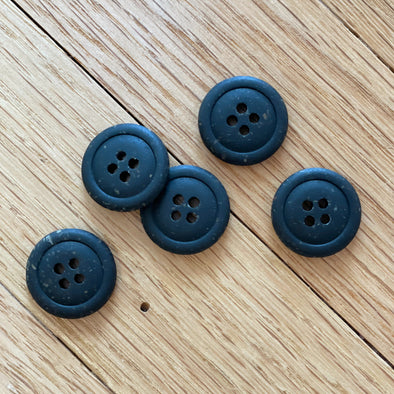 Nero Recycled Resin Buttons
