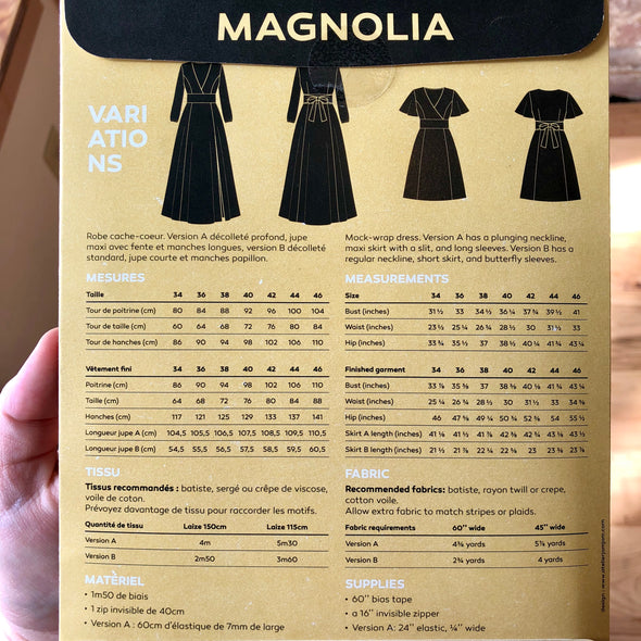Magnolia Dress Pattern
