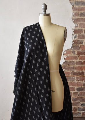 Star Ikat- Black