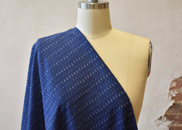 Single Ikat Indigo