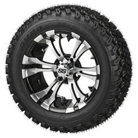 Golf Cart Wheel/Rim and Tire Packages, Wheel Covers and Accessories