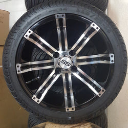 "14"" Tempest 2 Low Profile Tire and Wheel Kit.(4)"