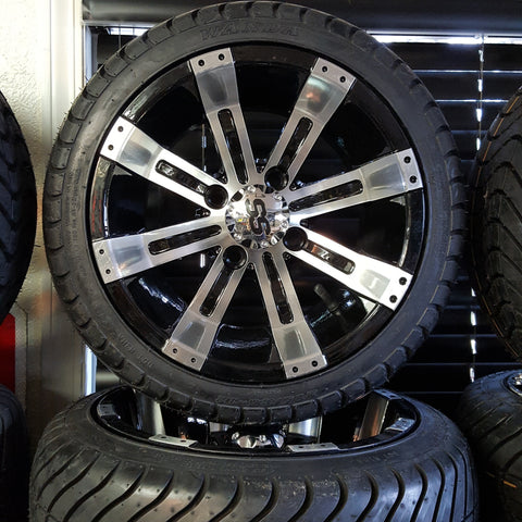 "12"" Tempest 1 Wheel with Low Profile Tire Kit(4)"