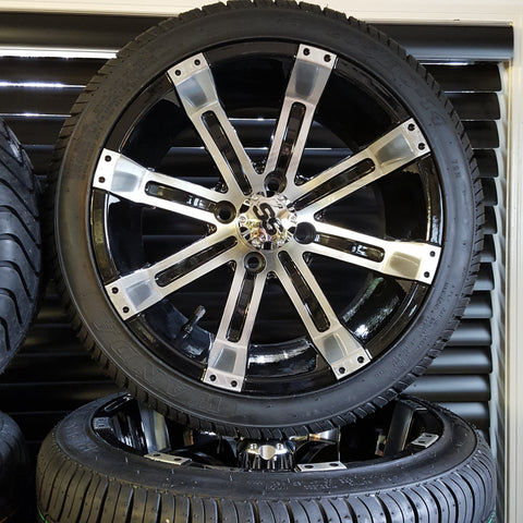"14"" Tempest Wheel with Low Profile Tire Kit (4)"