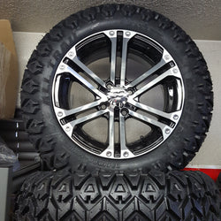 "14"" Rockstar Wheel and 23"" Bigfoot Tire Kit(4)"