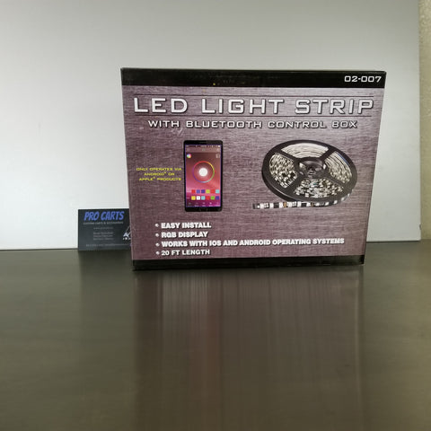 LED light strip for your golf cart!