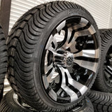 "12"" Vampire Wheel with Low Profile Tire Kit"