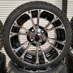"12"" Typhoon Wheel with Low Profile Tire Kit"