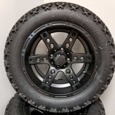 "14"" Black Dominator Wheel and 23"" Tire Kit"