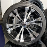 "14"" Vampire Wheel with low Profile Tire Kit"