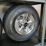 Wheel Cover SS Chrome 8""