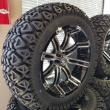 "14"" Tempest Wheel and 23"" Bigfoot Tire Kit (4)"