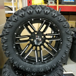 "14"" Raphy Wheel and 23"" Bigfoot Tire Kit (4)"