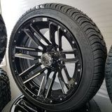 "14"" Raphy Low Profile Tire and Wheel Kit.(4)"