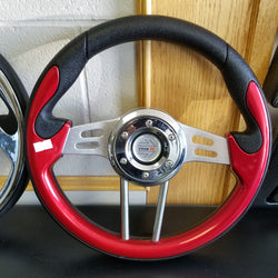 Steering Wheel - Mad Red