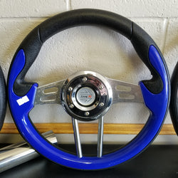 Steering Wheel - Mad Blue