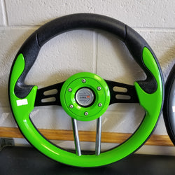 Steering Wheel - Mad Green