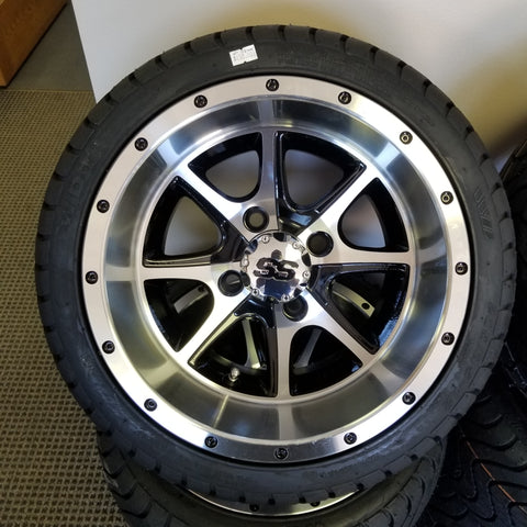 "12"" Tremor Wheel and LP Tire"