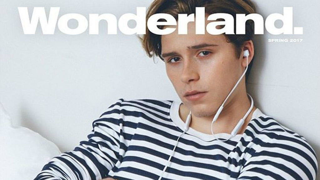 See #brooklynbeckham, the 18-year-old casanova, on the cover of