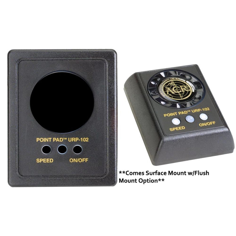 ACR URP-102 Point Pad Kit f-RCL-50-100 - 2nd Station Kit - Flush-Surface Mount Options - Lightship Marine Outfitters