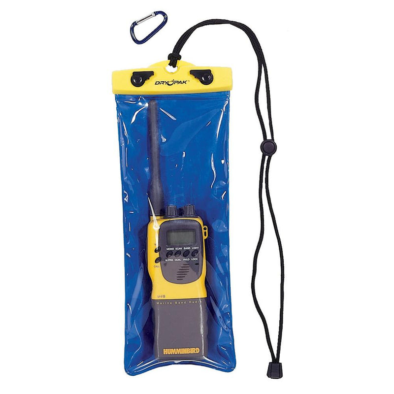 "Dry Pak VHF Radio Case - 5"" x 12"" - Lightship Marine Outfitters"
