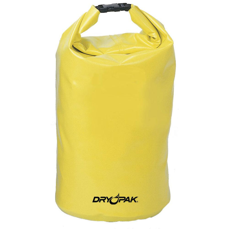 "Dry Pak Roll Top Dry Gear Bag - 11-1-2"" x 19"" - Yellow - Lightship Marine Outfitters"