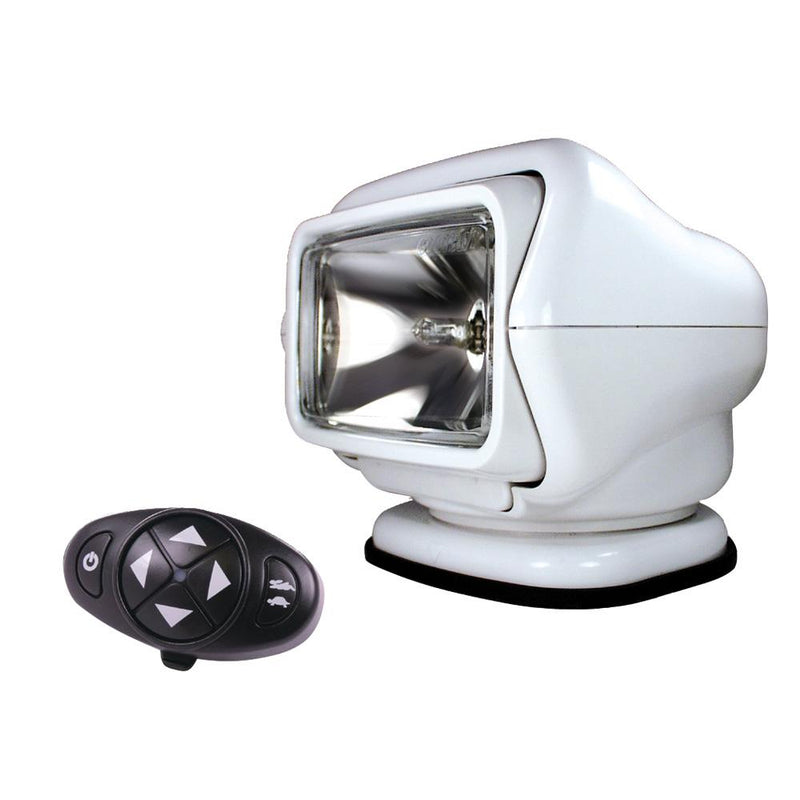 Golight Stryker Searchlight 12V w-Wireless Dash Remote - White - MAP $329.00 - Lightship Marine Outfitters