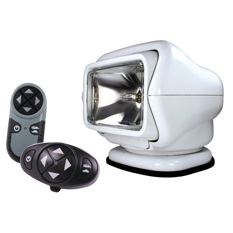 Golight Stryker Searchlight 12V w-Wireless Dash & Handheld Remote - White - MAP $379 - Lightship Marine Outfitters