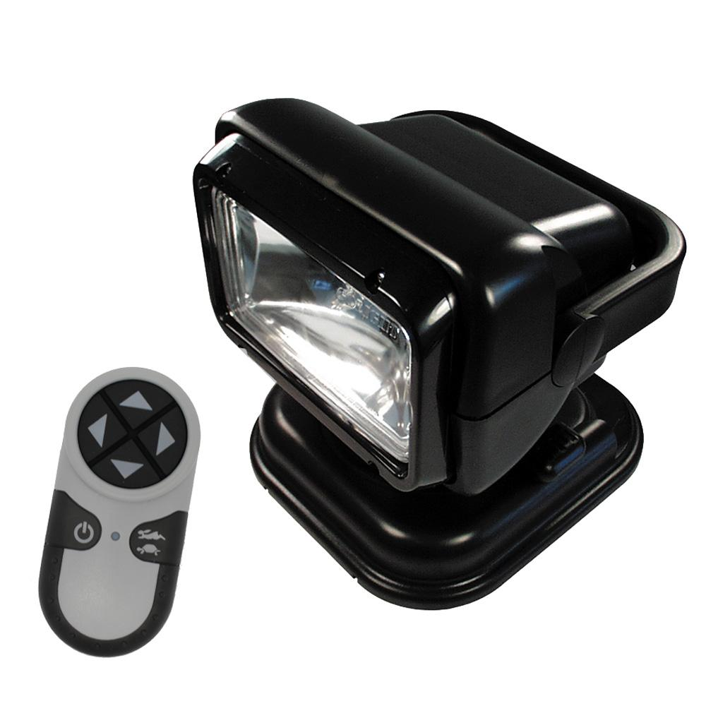 Golight Portable RadioRay w-Magnetic Shoe - Black - MAP $269.00 - Lightship Marine Outfitters