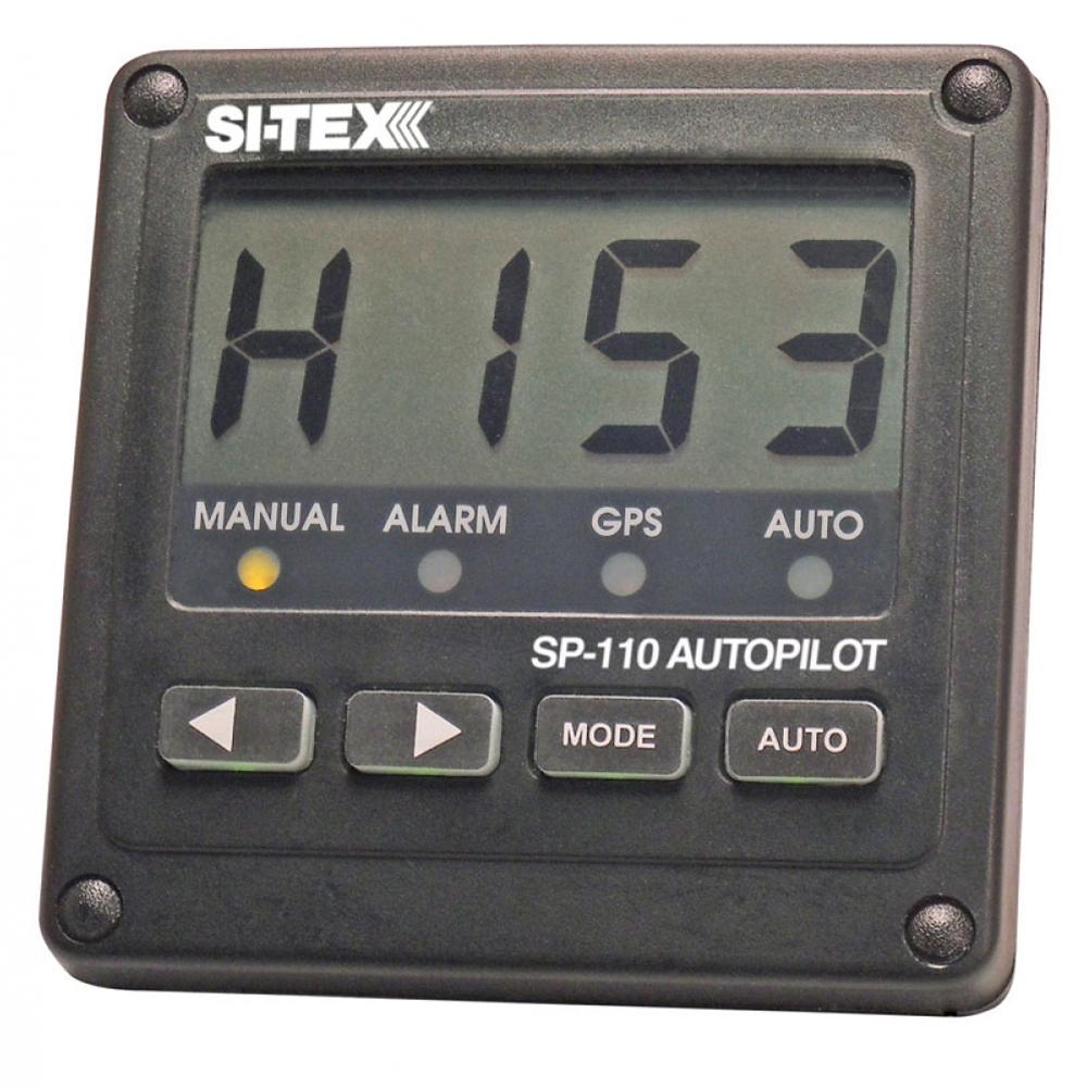 SI-TEX SP-110 System w-Virtual Feedback & NO Drive Unit - Lightship Marine Outfitters