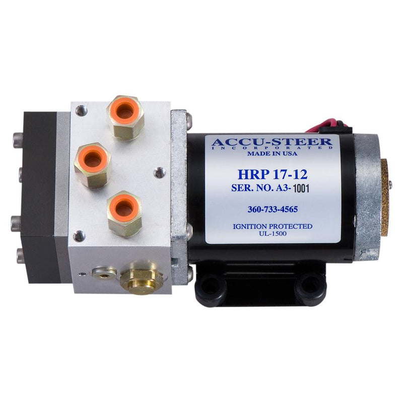 Accu-Steer HRP17-24 Hydraulic Reversing Pump Unit - 24 VDC - Lightship Marine Outfitters
