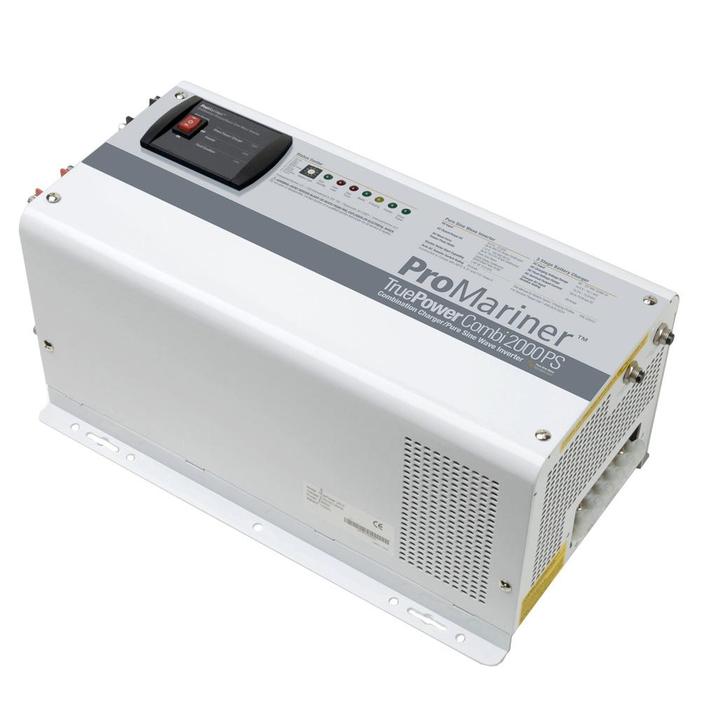 Promariner Lightship Marine Outfitters Highfidelity And Pure Sine Wave Inverter 1 Based On Class D Amplifier Truepower 2000ps Combi Charger