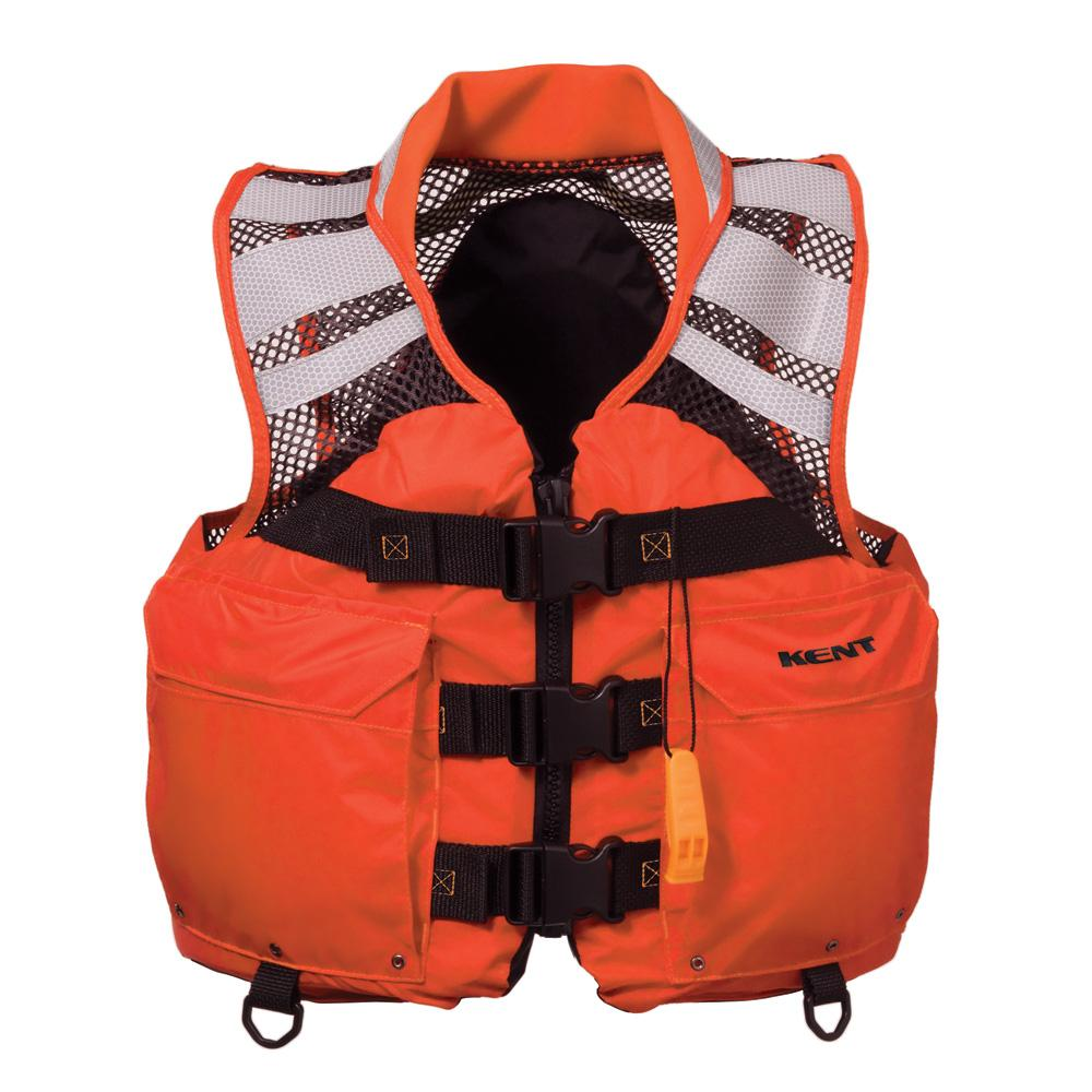 "Kent Mesh Search and Rescue ""SAR"" Commercial Vest - Medium - Lightship Marine Outfitters"
