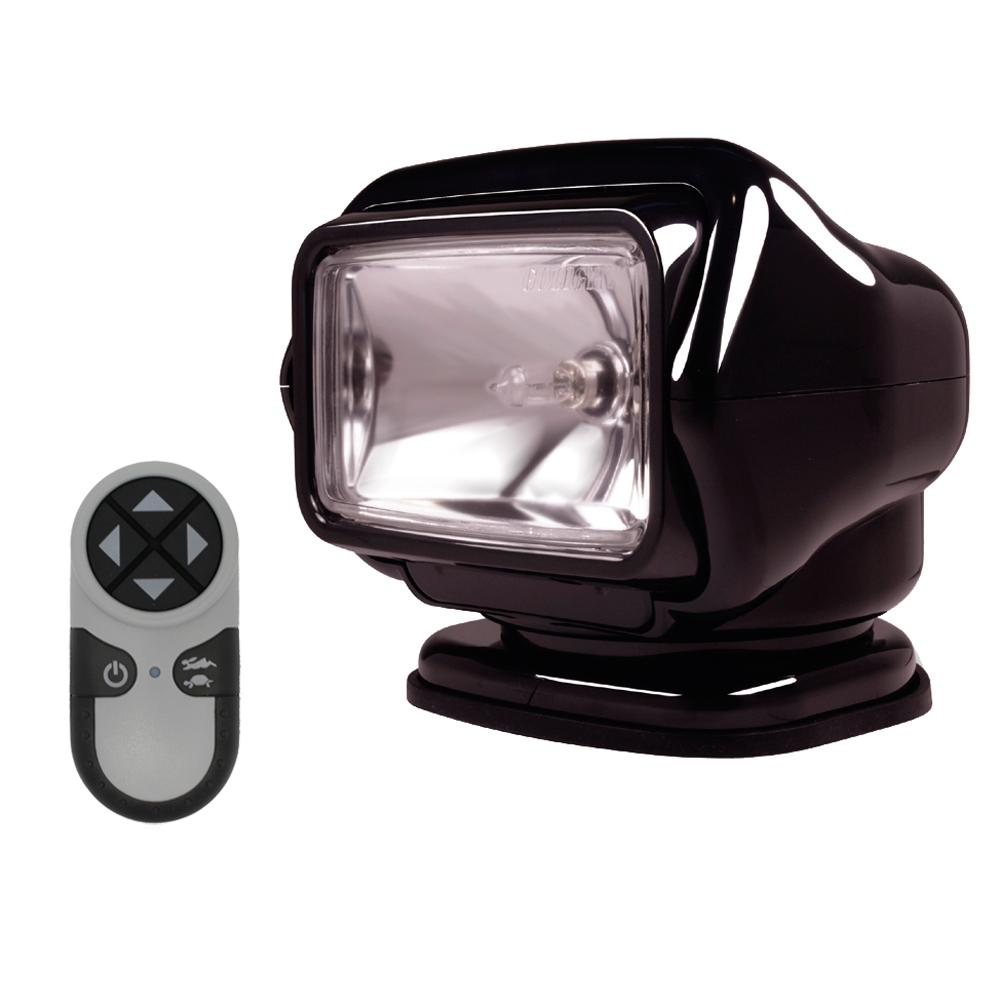 Golight Stryker Searchlight w-Wireless Handheld Remote - Magnetic Base - Black - MAP $349.99 - Lightship Marine Outfitters