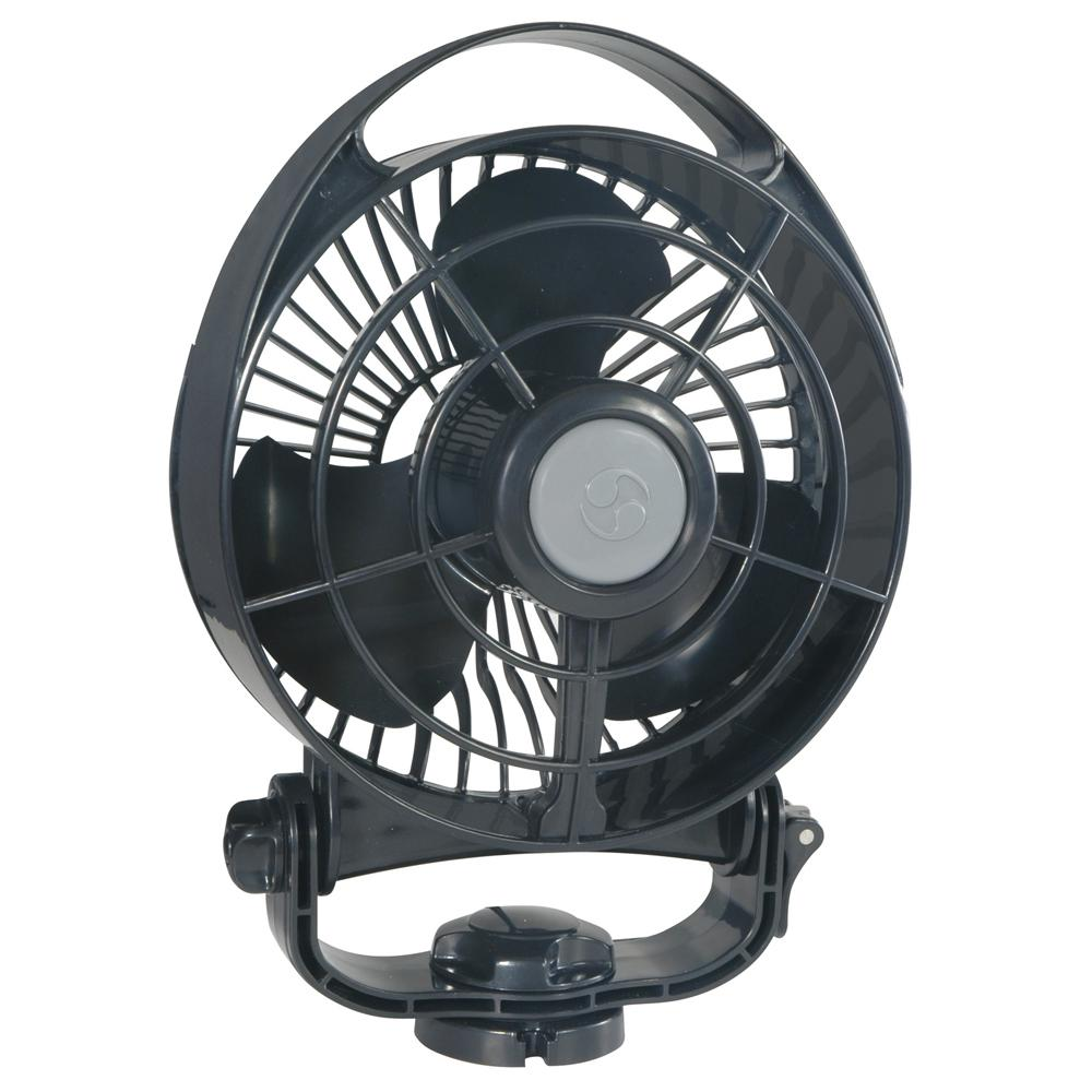 "Caframo Bora 748 24V 3-Speed 6"" Marine Fan - Black - MAP $89.99 - Lightship Marine Outfitters"