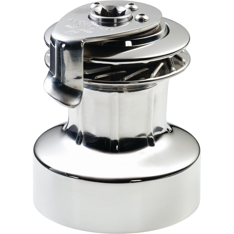 ANDERSEN 28 ST FS  - 2-Speed Self-Tailing Manual Winch - Full Stainless Steel - Lightship Marine Outfitters