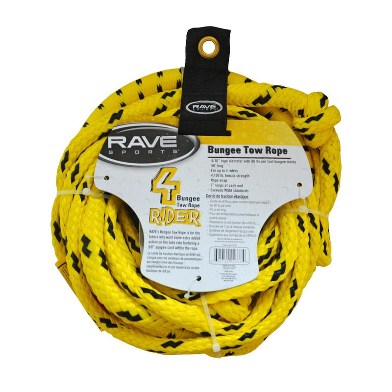 RAVE 50' Bungee Tow Tope - Lightship Marine Outfitters