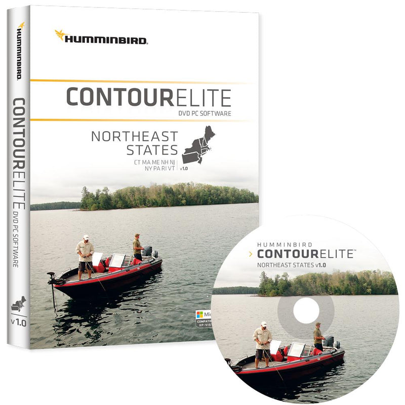 Humminbird Contour Elite - Northeast States - Version 1 - Lightship Marine Outfitters